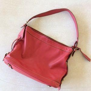 Handbags - Abro Italian leather handbag Red